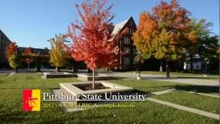 '2012 at Pitt State was a year full of BIG accomplishments!