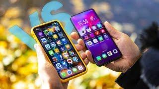 Oppo find x vs iPhone Xs Max un choc titanesque