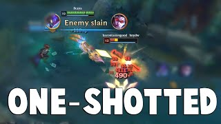 GOSU GETS ONE-SHOTTED - Watch No HP Diana One-Shot Full HP Gosu | Funny LoL Series #505