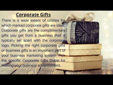 Gifting Ideas for Business