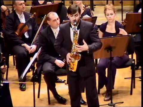 A.Glazunov - Saxophone Concerto in Eb Major Op.109