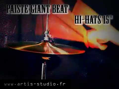 "Paiste Giant Beat 15"" Hi-Hats cymbal"