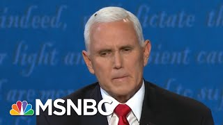 Buzzer Beater: Americans Delight In Fly's Cameo On VP Pence's Head   MSNBC