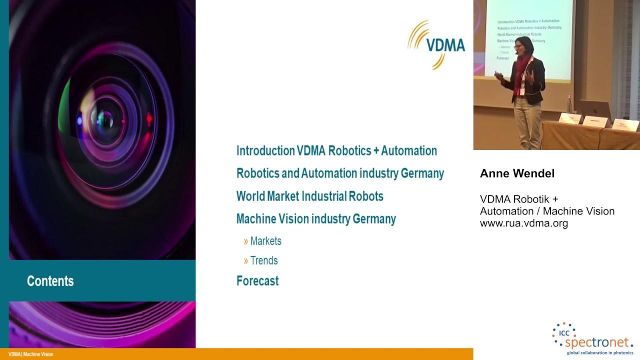 Machine Vision: Marktüberblick und Trends - Technologieforum Bildverarbeitung 2019