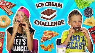 Ice-Cream Sandwich Challenge!!!!