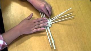 Návod na tvorbu košíčku z papírového pedigu