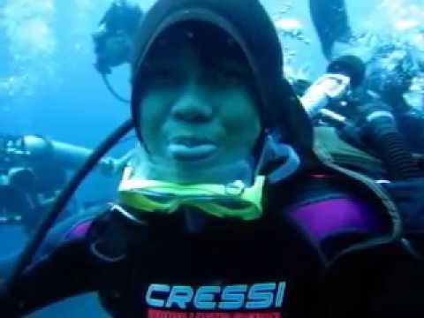 MDC members with Club Penyelaman explore the fame wreck of USAT Liberty at Tulamben, Karang Asem - Bali. Happy watching!