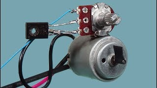 DIY-Regulator Brzine DC Motora   DC motor speed controller - Asad