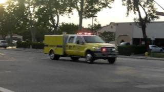 VCFD/AMR responding to a medical