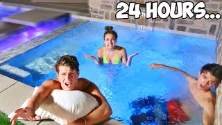 Living In A Hot Tub For 24 Hours!
