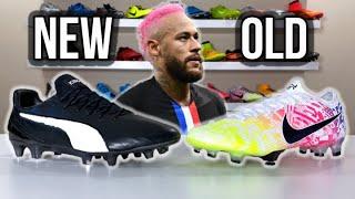Neymar's old boots vs Neymar's new boots - What's better?