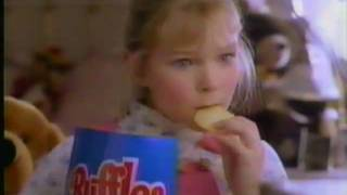 1983 Ruffles potato chips commercial.