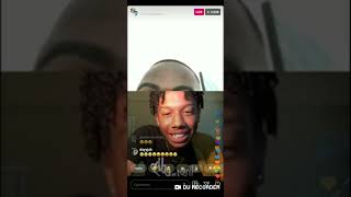 Santanaonthebeat on IG live gagging with fans. 🤪