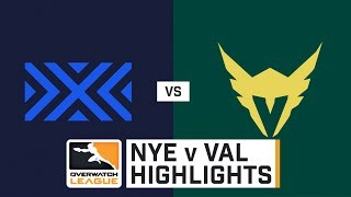 HIGHLIGHTS New York Excelsior vs. Los Angeles Valiant | Stage 1 | Week 2 | Day 2 | Overwatch League