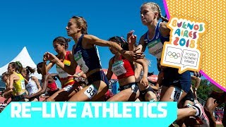 RE-LIVE | Day 09: Athletics | Youth Olympic Games 2018 |Buenos Aires