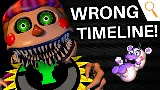 FNAF: MatPat was WRONG! (The FNAF Timeline - Ultimate Custom Night | Game Theory)