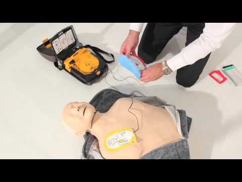 Safety First Aid LifePak Defibrillator Charge-Pak Stick + Electrodes