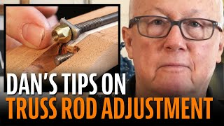 Watch the Trade Secrets Video, Understanding guitar truss rod adjustment