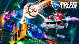 Rocket League - Ronalvão no Modo Caça Fantasma!