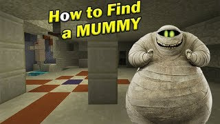 How to Find a MUMMY   Minecraft PE