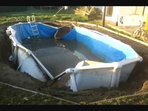 Swimming Pool Installation Fail Youtube