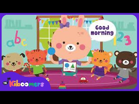 Good Morning Song For Children Dream English - Good