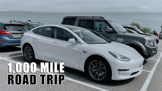 1,000 Mile Road Trip in a Tesla Model 3 (UK)