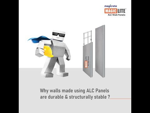 Magicrete ALC Wall Panels: Durable & Structurally Stable