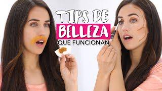 Tips de belleza que funcionan y que toda mujer debería saber | Beauty tips