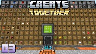 Create Together Modpack Livestream Series (3) 09/05/21