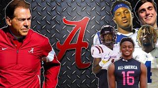 "Alabama ""CHEATED"" *Alabama Crimson Tide Top 5 Recruits 2021* l Sharpe Sports"