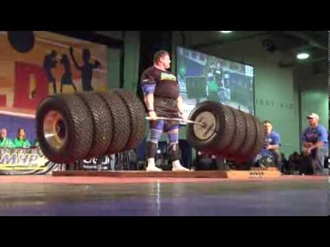 Watching This Titan Lift 1155 Pounds Will Make You