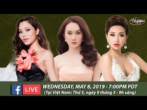 Livestream với Diễm Sương, Hoàng Mỹ An, Như Ý - May 8, 2019