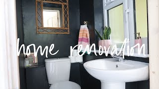 Painting, Decorating and a Bathroom Makeover   Victorian Home Renovation   DIYary Ep 8