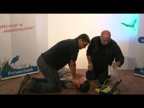 Bewusteloos GEEN normale ademhaling (AED)
