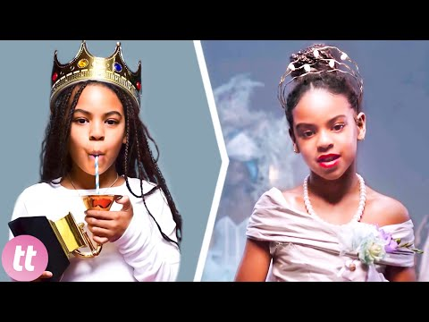 Греми награда, музички проекти - Блу Ајви, ќерката на Бијонсе, нижи успеси на само 9 години