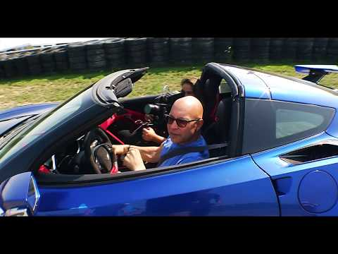 Power Sliding the Genovation GXE All Electric Supercar