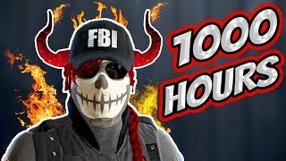 What 1000 HOURS of ASH Experience Looks Like - Rainbow Six Siege