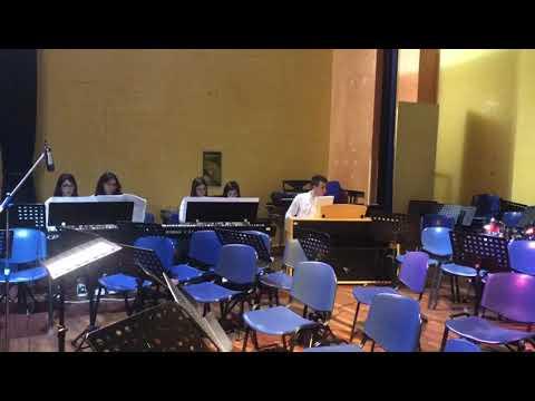 Mozart  Danza tedesca n 3 K 605  La slitta   D'Errico,Debilio, Paravati, Tallarico, Celia, Julio a s