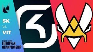 SK vs VIT - LEC 2019 Summer Split Tiebreaker - SK Gaming vs Vitality