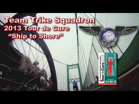 Tour De Cure / Ship to Shore 2013 - Team Trike Squadron