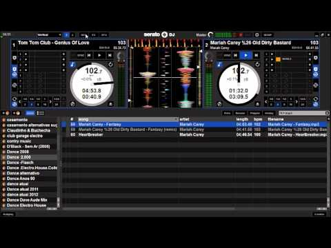 Baixar Tom Tom Club - Genius Of Love & Mariah Carey - Fantasy (SERATO DJ)