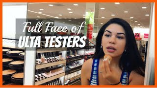 Full Face Using Ulta/Sephora Testers PART 2!! | YessiWaters