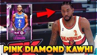 PINK DIAMOND ALL STAR MVP KAWHI LEONARD GAMEPLAY!! WORTH BUYING FOR 400k IN NBA 2K20 MyTEAM??