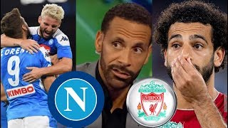 "Napoli vs Liverpool 2-0 Post Match Analysis Rio Ferdinand ""SHOCKED"" REACTION - Champion League 2019"