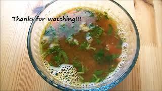 Simple and easy rasam recipe (Tasty and Tangy with lemon),Tomato soup / suvaiyana thakkali rasam