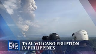 Taal volcano eruption in Philippines | THE BIG STORY | The Straits Times