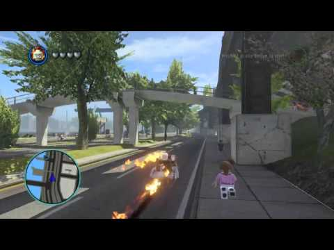 Lego marvel super heroes the video game ghost rider free roam