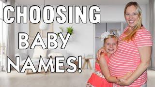 Week 31 Bumpdate - Kids React to Baby Names!