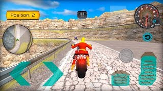 Super Moto Heroes Extreme Stunt Bike Racing 3D by Great Games Studio Android Gameplay